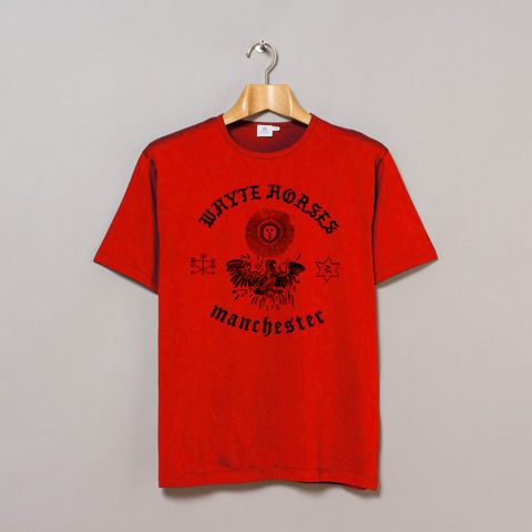 Buy Online Whyte Horses - Manchester Red T-Shirt