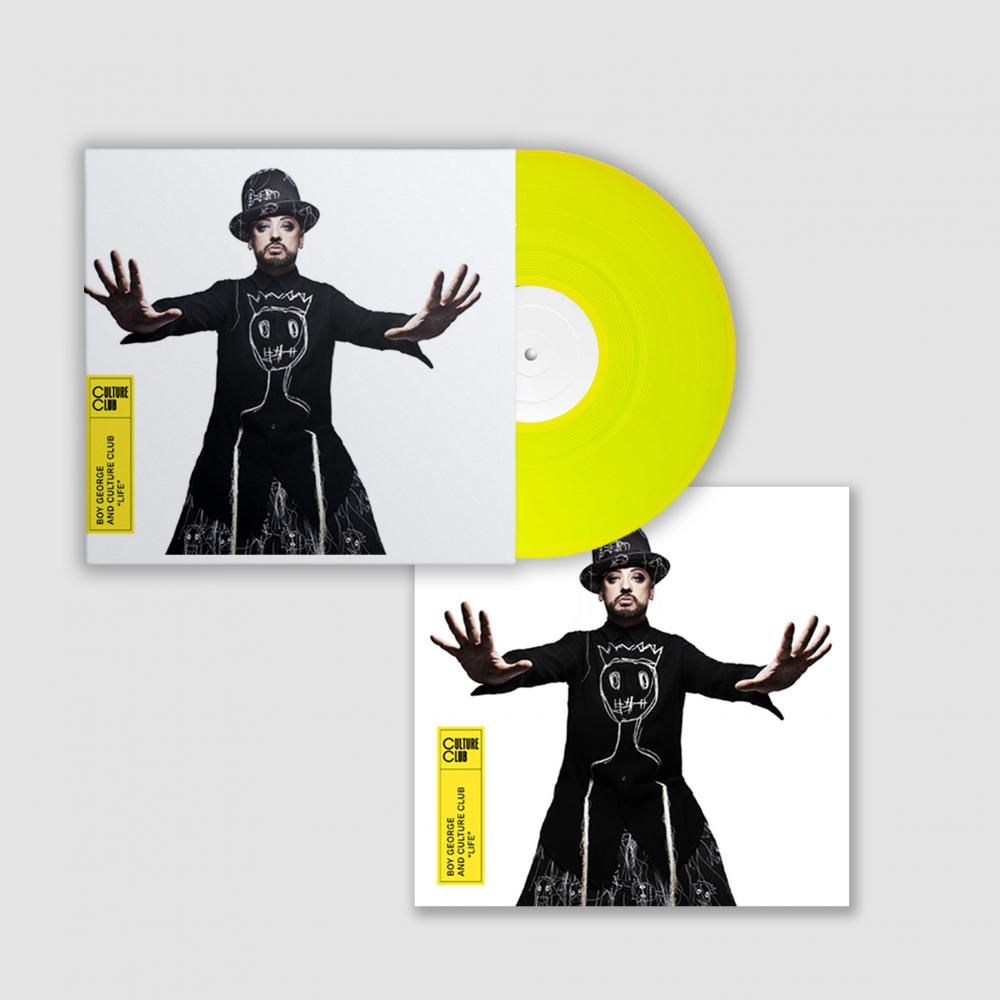 Buy Online Culture Club - Life Colour Vinyl + 12 x 12 Artwork Print