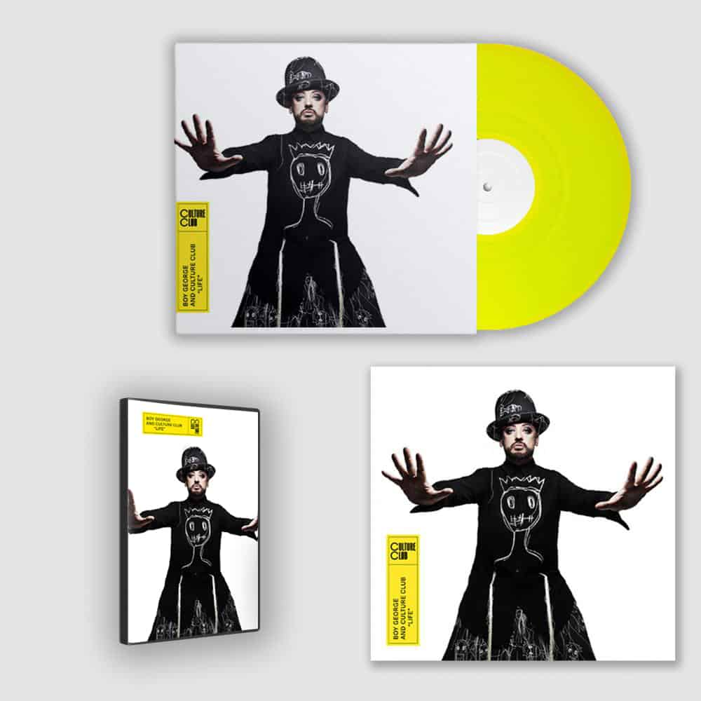 Buy Online Culture Club - Life LP, 12x12 Artwork Print + Deluxe CD Bundle