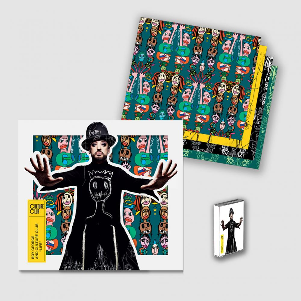 Buy Online Culture Club - Life Die Cut CD Album + Cassette