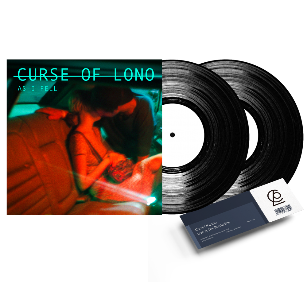 Buy Online Curse Of Lono - LP and Ticket Bundle