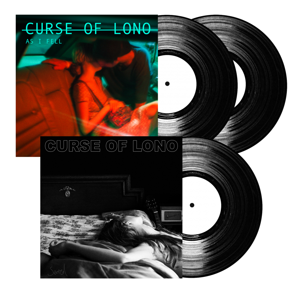 Buy Online Curse Of Lono - As I Fell & Severed LP Bundle