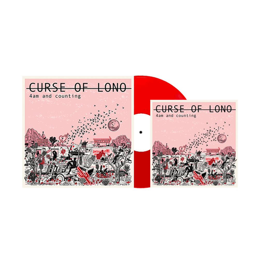 Buy Online Curse Of Lono - 4am And Counting LP + Deluxe Download
