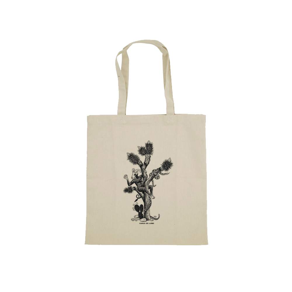 Buy Online Curse Of Lono - Valentine Designed By Stuart Patience Tote Bag