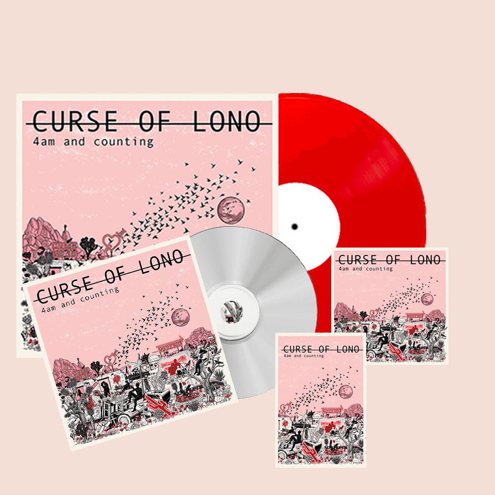 Buy Online Curse Of Lono - 4am Deluxe Bundle (Vinyl + CD + Cassette + Download)