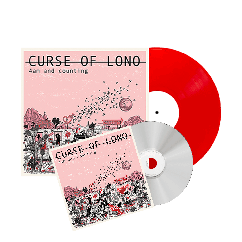Buy Online Curse Of Lono - 4am And Counting Vinyl + CD Album