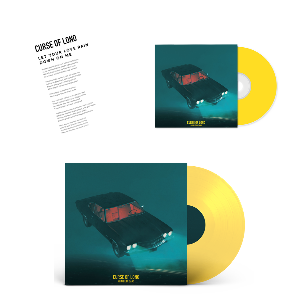 Buy Online Curse Of Lono - Yellow LP + CD (Includes Signed Lyric Print)