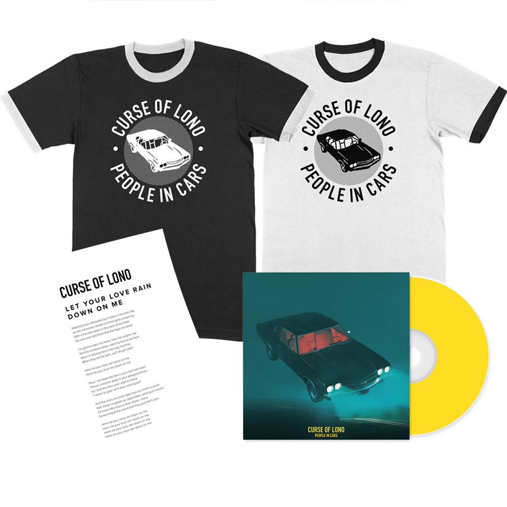 Buy Online Curse Of Lono - CD + T-Shirt (Includes Signed Lyric Print)