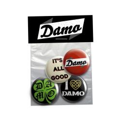 Buy Online Damien Dempsey - Damo Badge Set