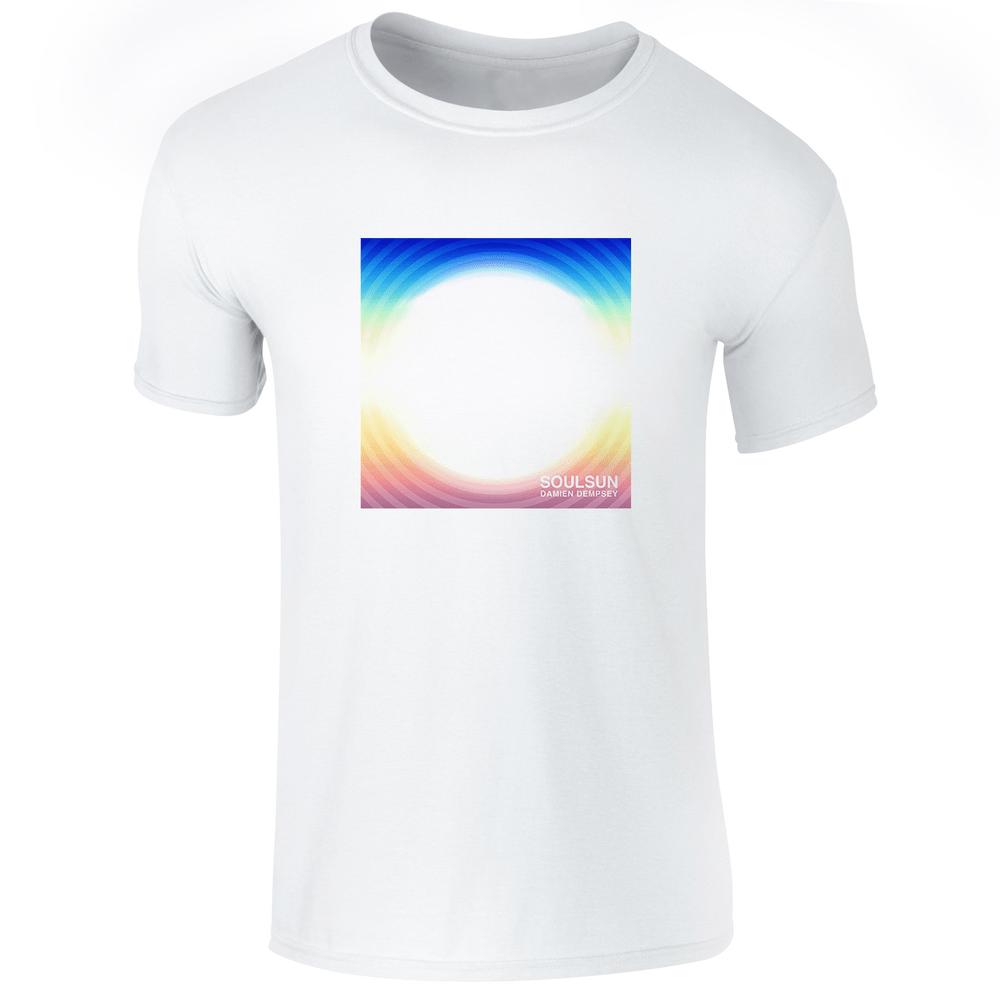 Buy Online Damien Dempsey - SoulSun White T-Shirt