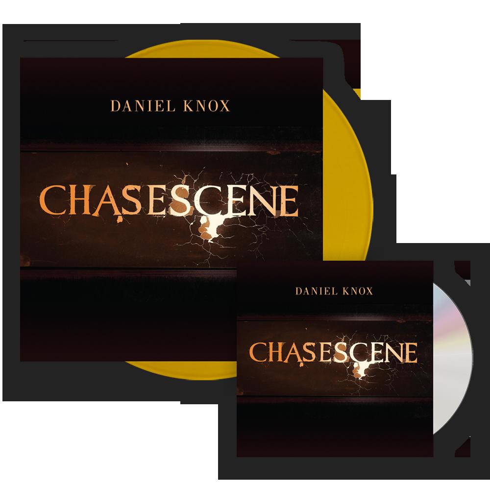 Buy Online Daniel Knox - Chasescene Gold Vinyl (Signed) + CD (Signed)