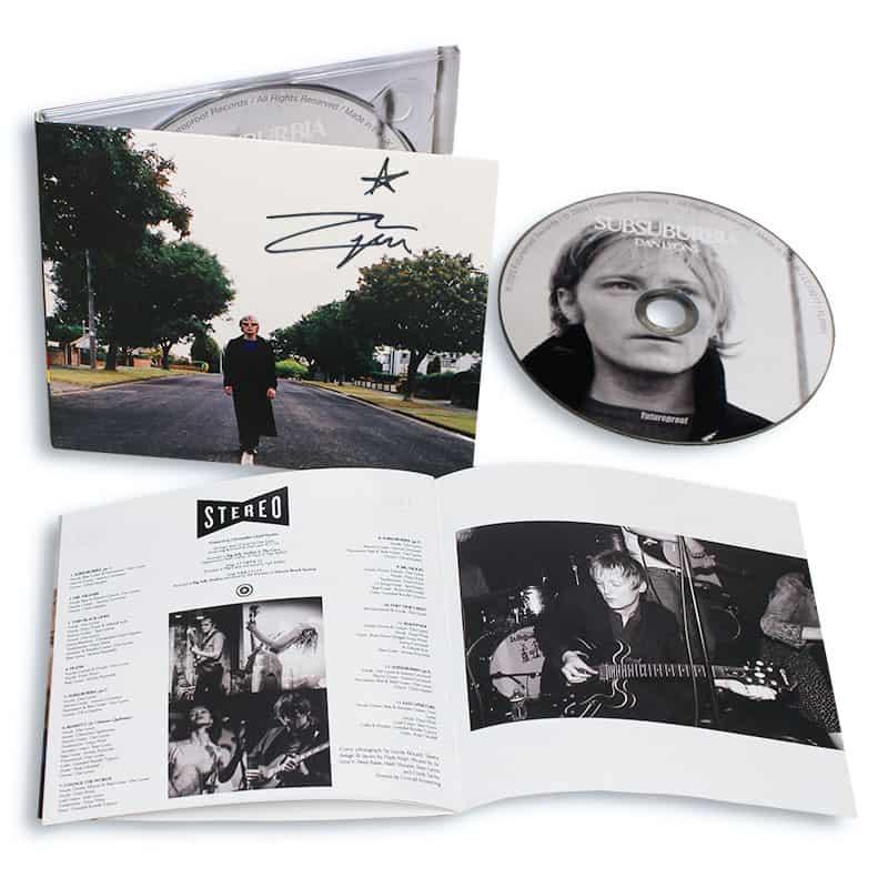 Buy Online Dan Lyons - SubSuburbia CD (Signed)