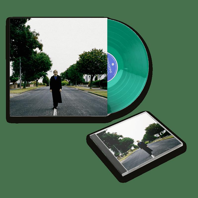 Buy Online Dan Lyons - SubSuburbia CD (Signed) + Green Vinyl (Signed)