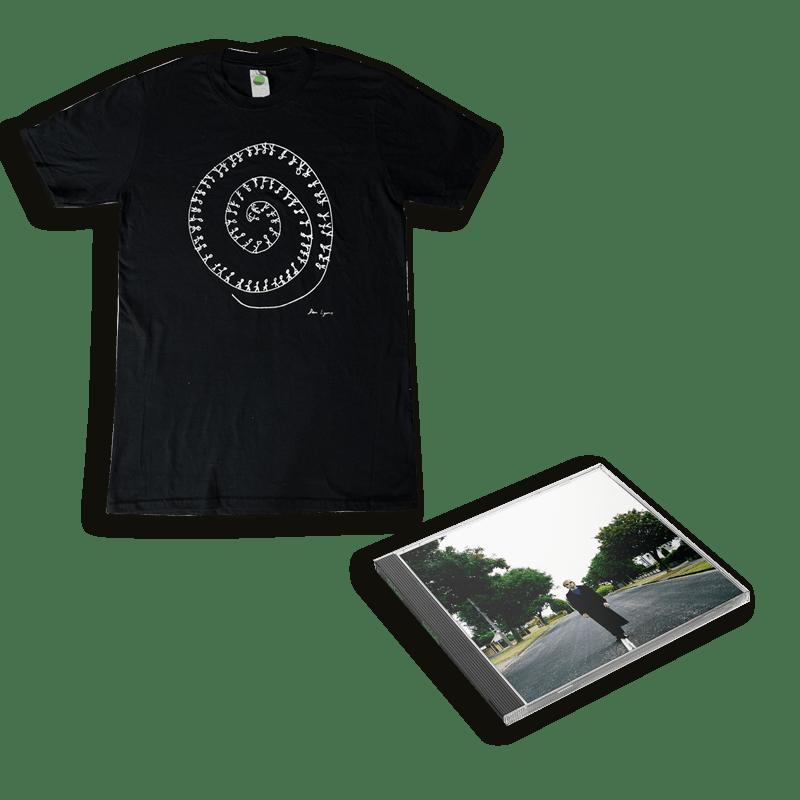 Buy Online Dan Lyons - SubSuburbia CD (Signed) + T-Shirt