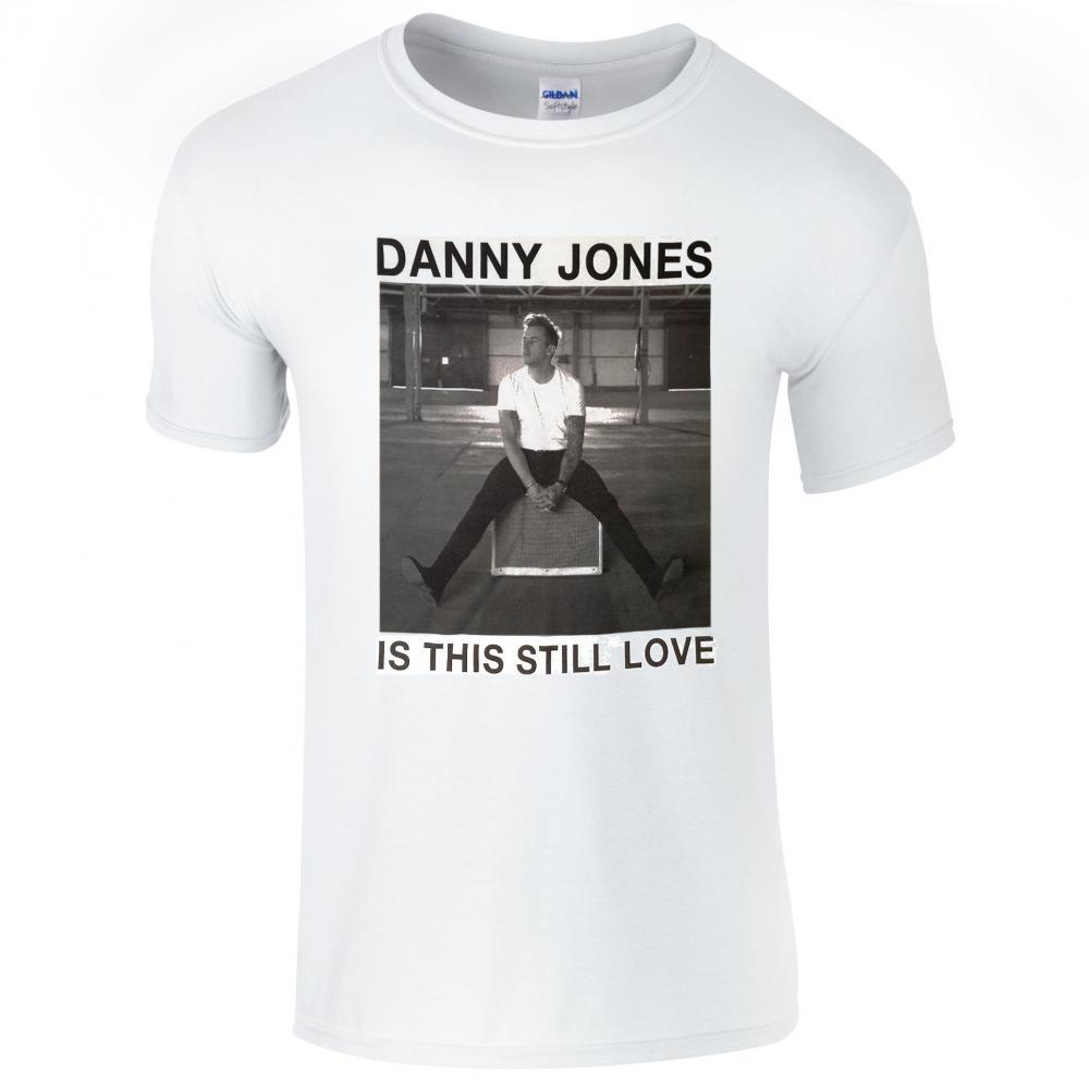 Buy Online Danny Jones - White Is This Love T-Shirt
