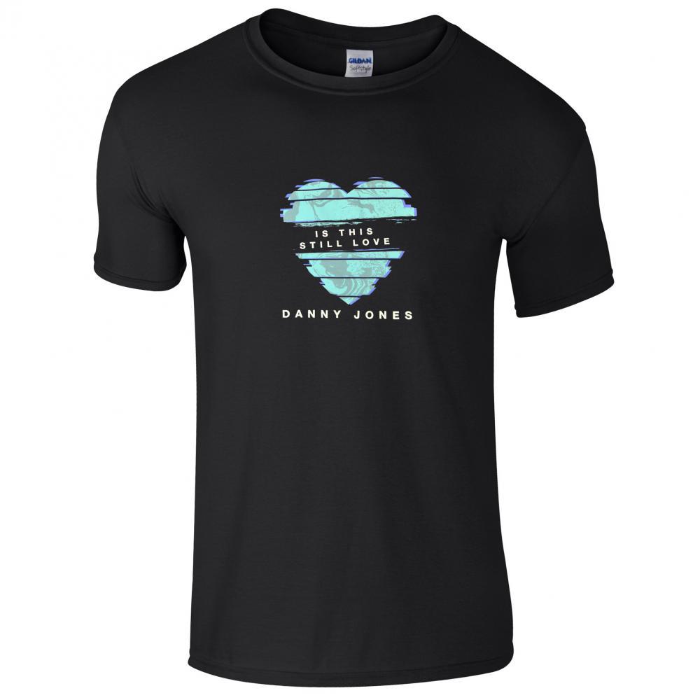Buy Online Danny Jones - Black Is This Love T-Shirt