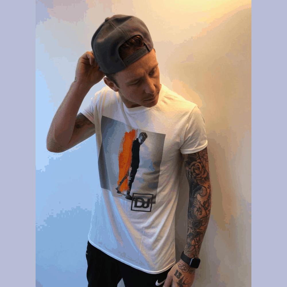 Buy Online Danny Jones - White T-Shirt