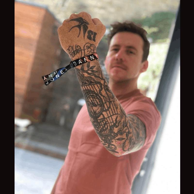 Buy Online Danny Jones - Wristband