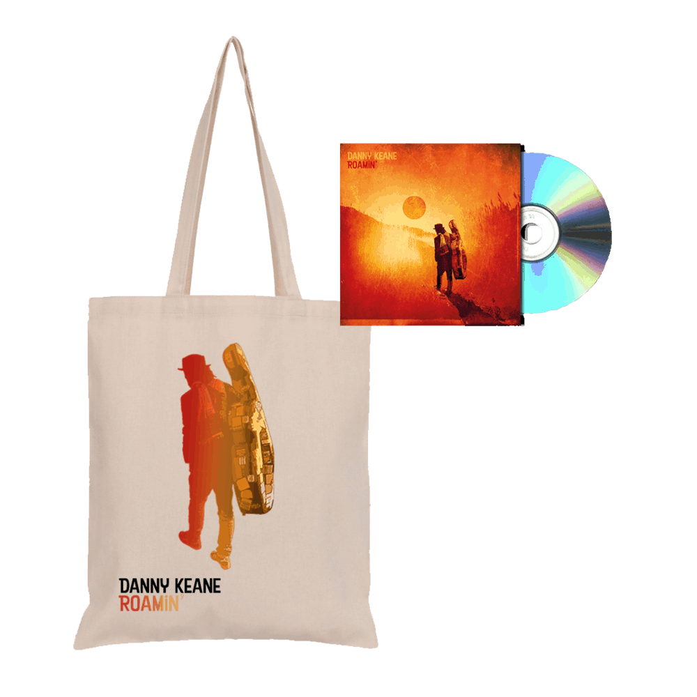 Buy Online Danny Keane - Roamin' - CD and Tote Bundle