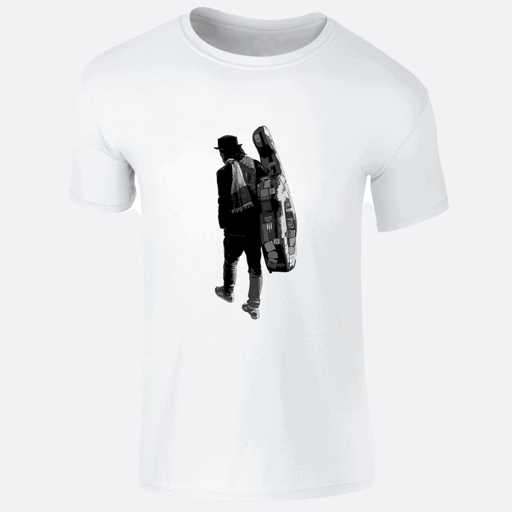 Buy Online Danny Keane - Roamin' - (White) T-Shirt