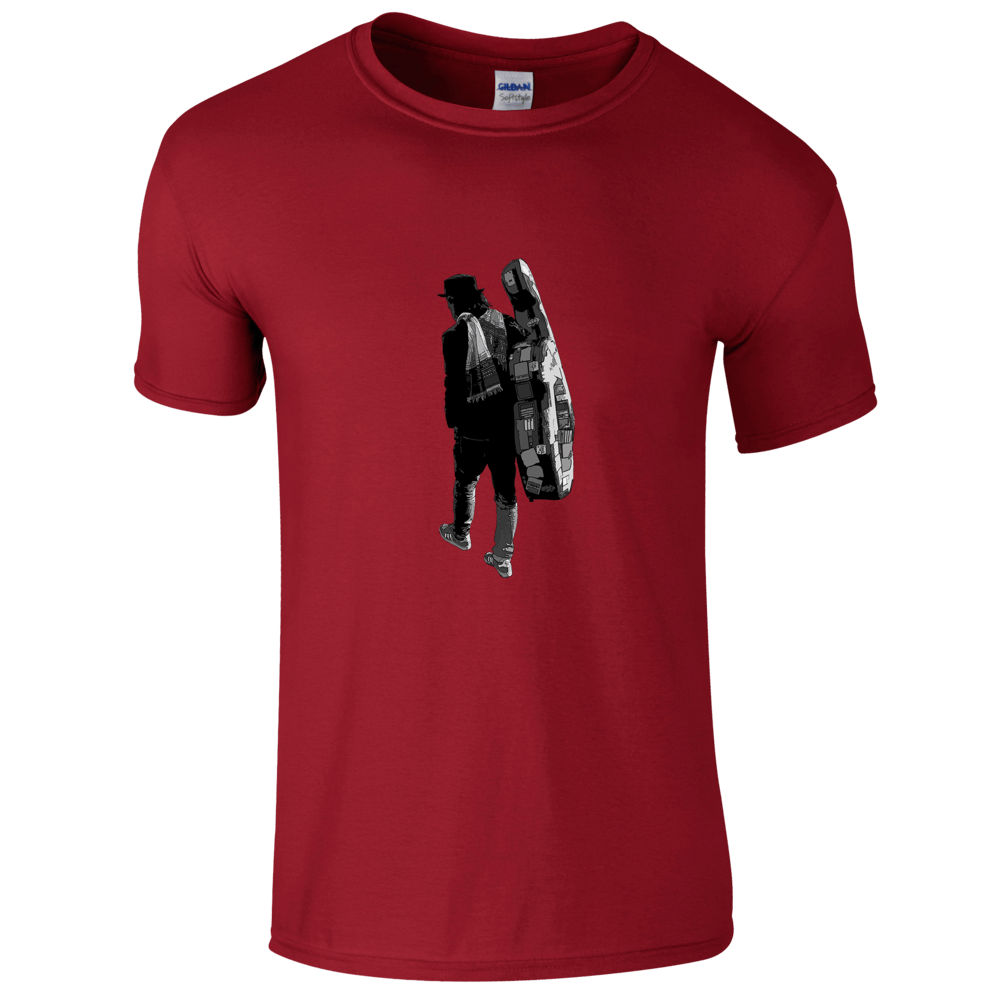 Buy Online Danny Keane - Roamin' - (Red) T-Shirt