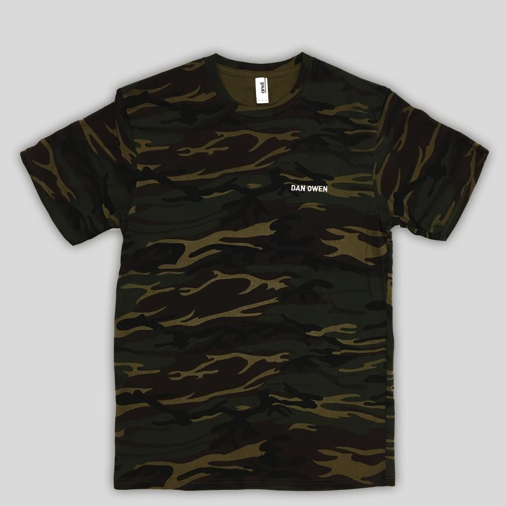 Buy Online Dan Owen - Camo T-Shirt