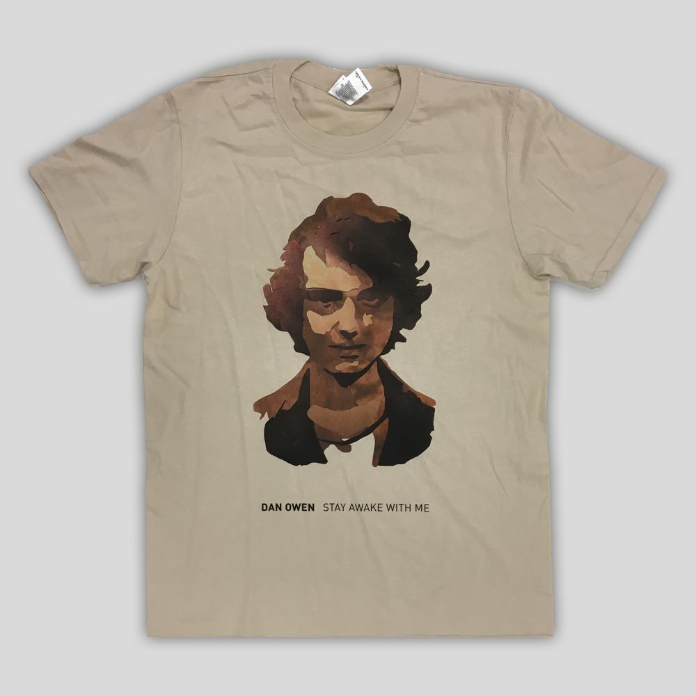 Buy Online Dan Owen - Stay Awake With Me T-Shirt