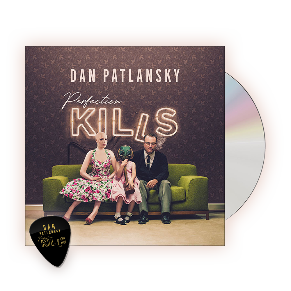 Buy Online Dan Patlanksky - Perfection Kills CD (Includes Store Exclusive Perfection Kills Plectrum)
