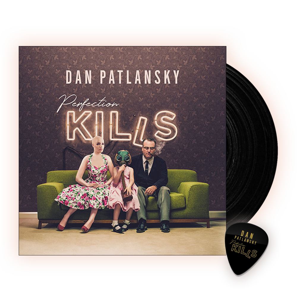 Buy Online Dan Patlanksky - Perfection Kills Vinyl (Includes Store Exclusive Perfection Kills Plectrum)