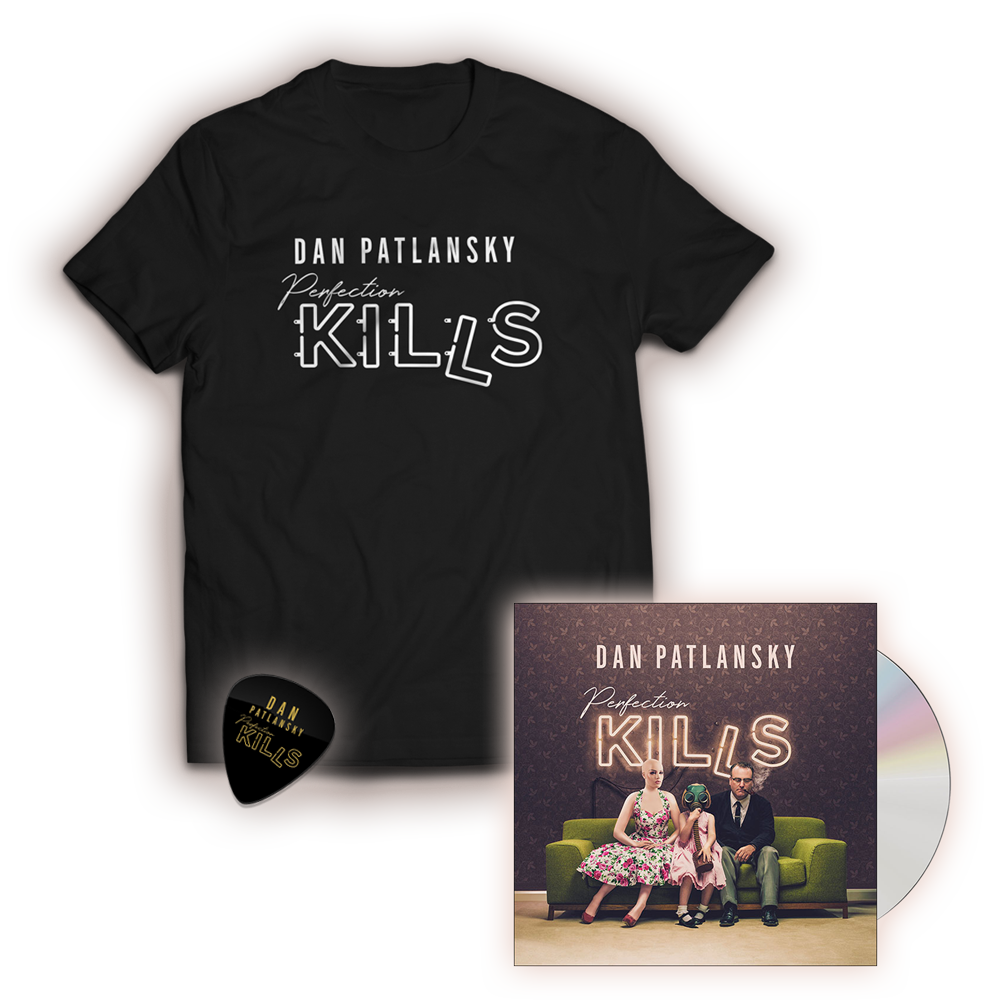 Buy Online Dan Patlansky - Exclusive Perfection Kills T-Shirt + Perfection Kills CD