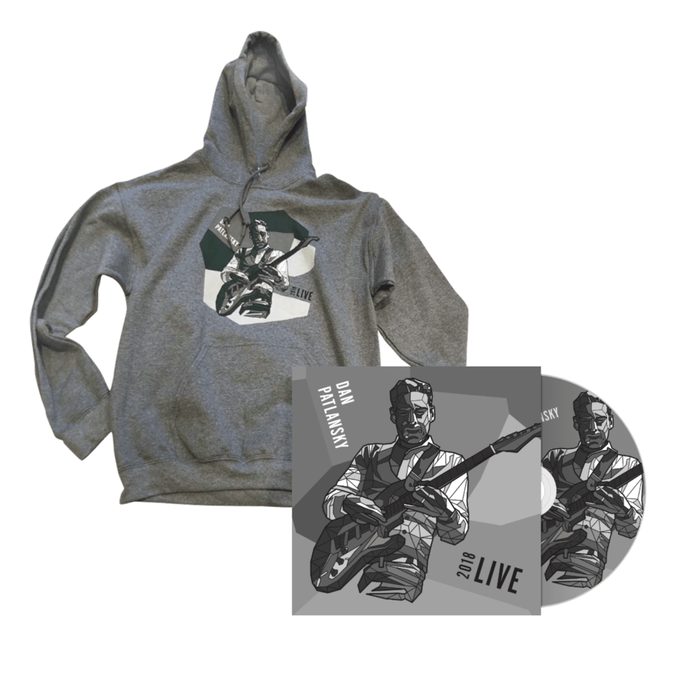 Buy Online Dan Patlanksky - Live CD Album + 2018 November Tour Hoodie