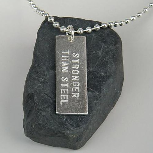 Buy Online Dan Reed - Stronger Than Steel Necklace