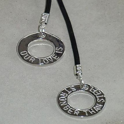 Buy Online Dan Reed - Our Love Is Stronger Than Steel Necklace