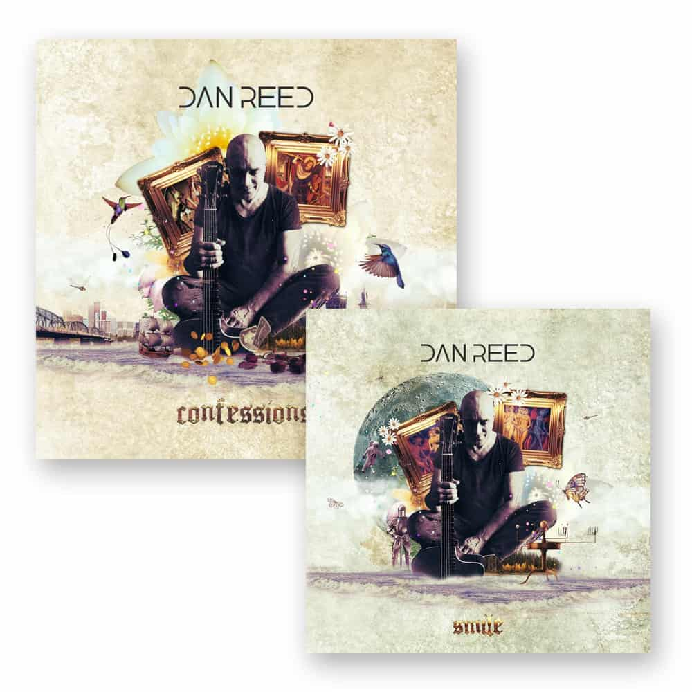 Buy Online Dan Reed - Confessions CD + Smile 7-Inch Coloured Vinyl (Exclusive, Ltd Edition)