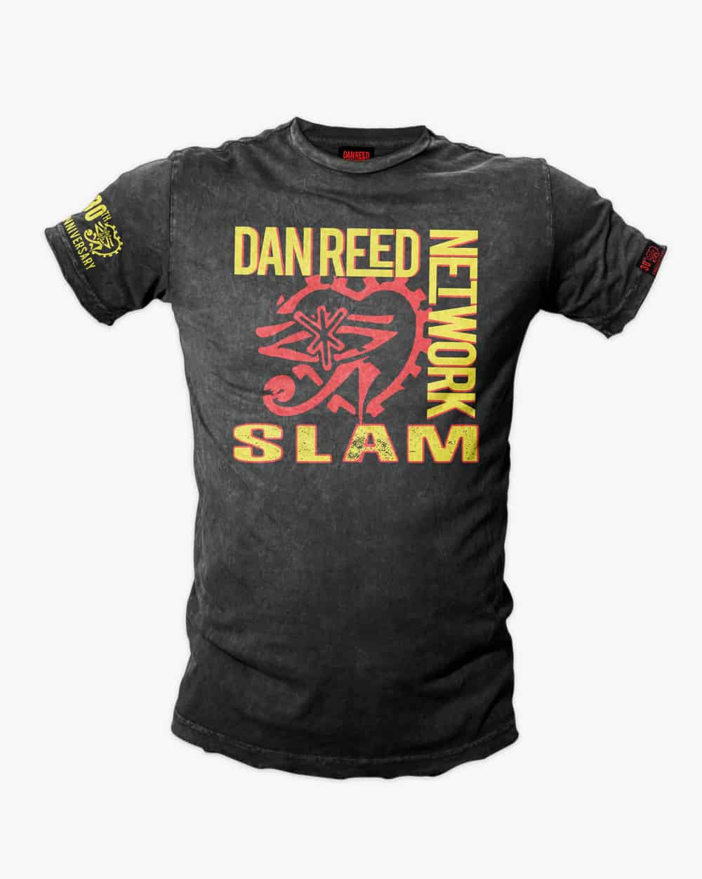 Buy Online Dan Reed Network - SLAM 30th ANNIVERSARY TOUR T-SHIRT