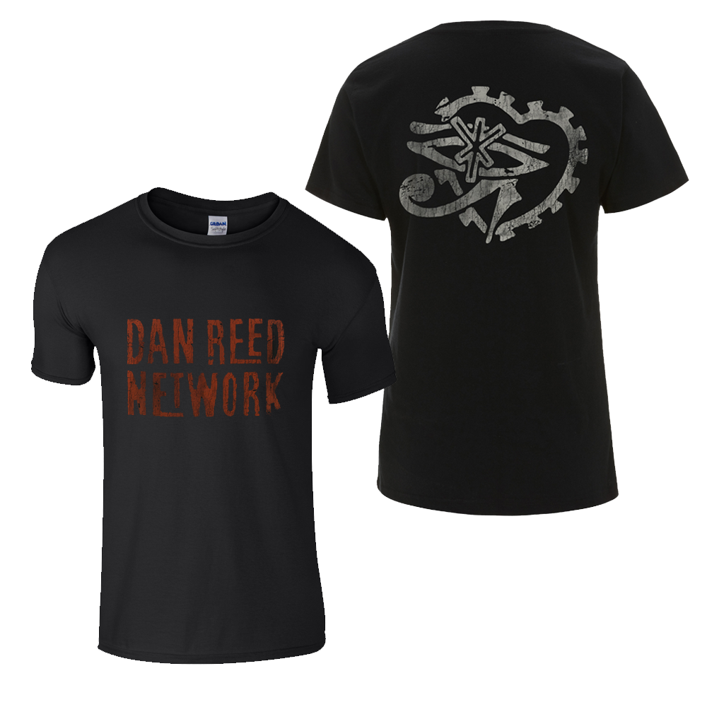 Buy Online Dan Reed Network - DRN Retro Logos Black Mens T-Shirt