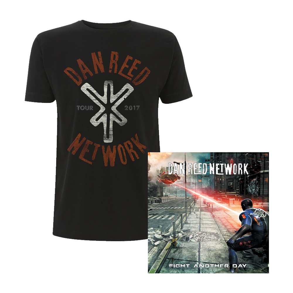 Buy Online Dan Reed Network - DRN Tour Shirt & Fight Another CD Album