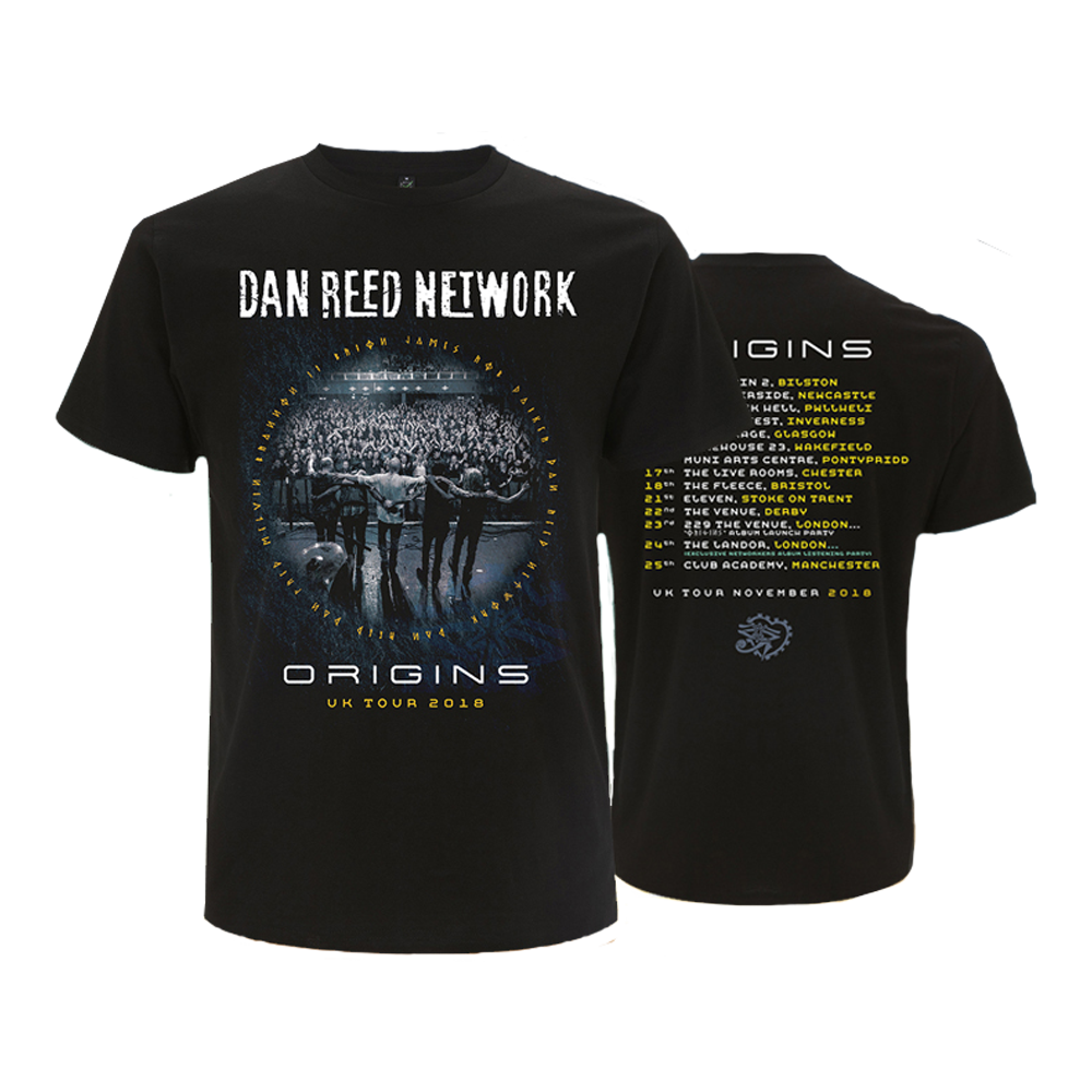 Buy Online Dan Reed Network - Origins Tour T-Shirt