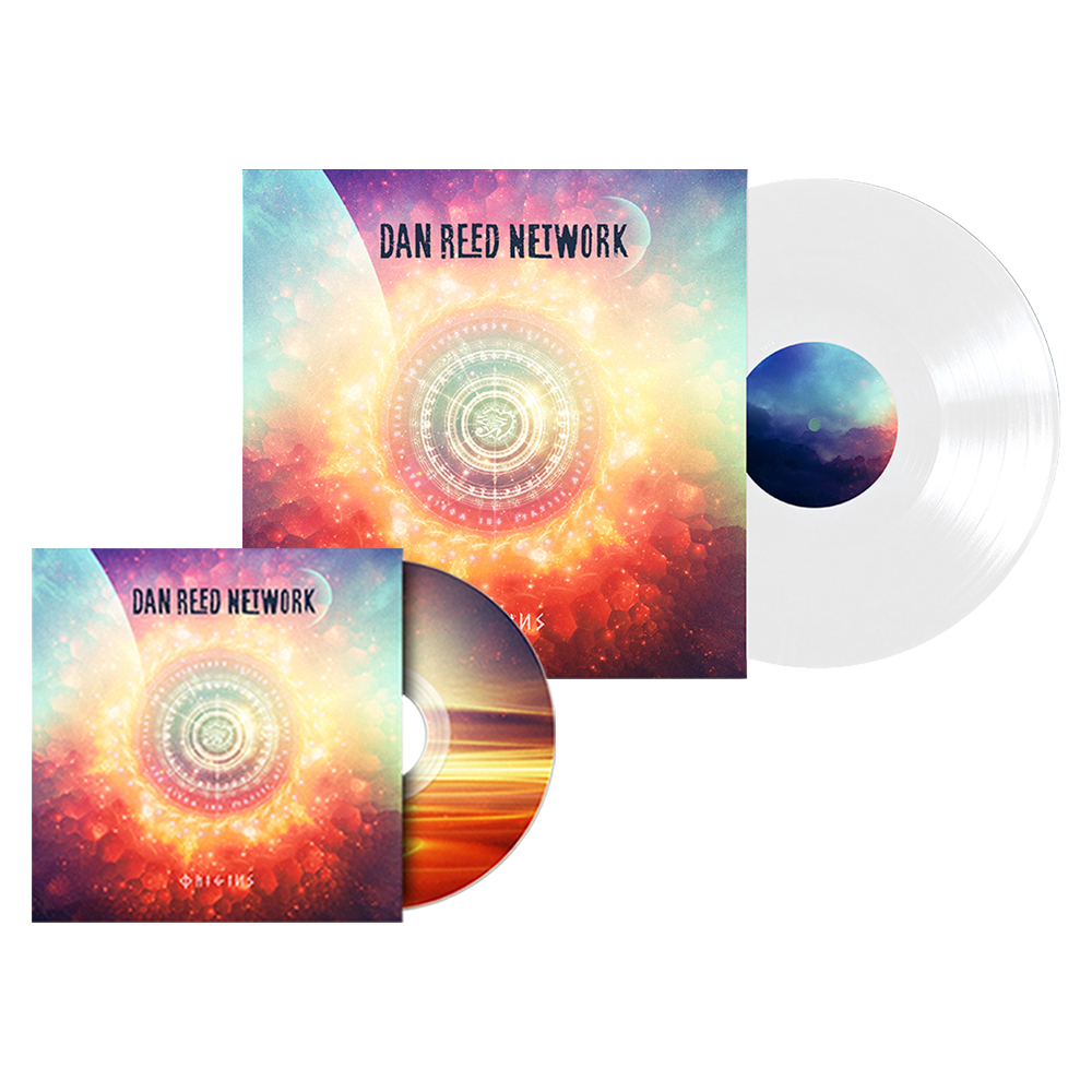 Buy Online Dan Reed Network - Origins CD + White Vinyl