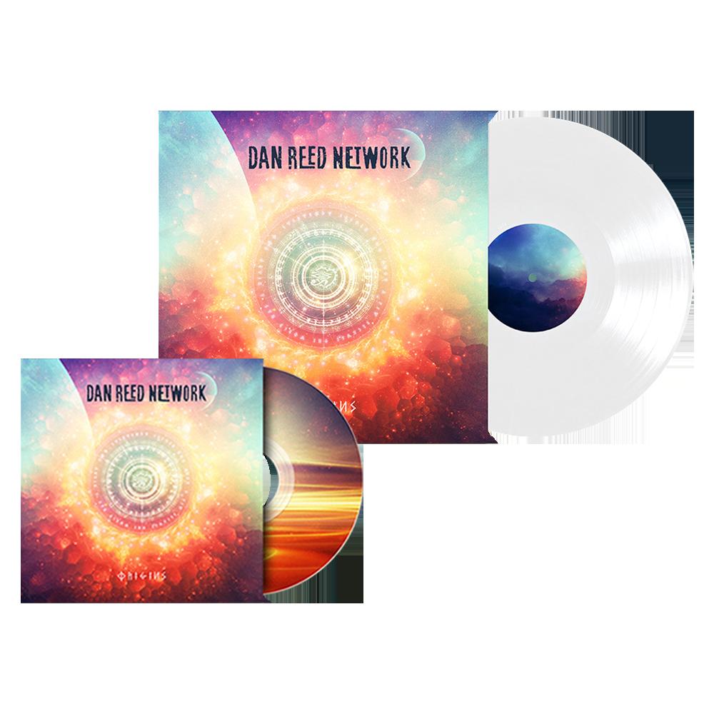 Buy Online Dan Reed Network - Origins CD Album + White Vinyl