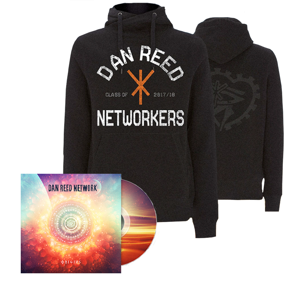 Buy Online Dan Reed Network - Origins CD + Networkers Hoodie