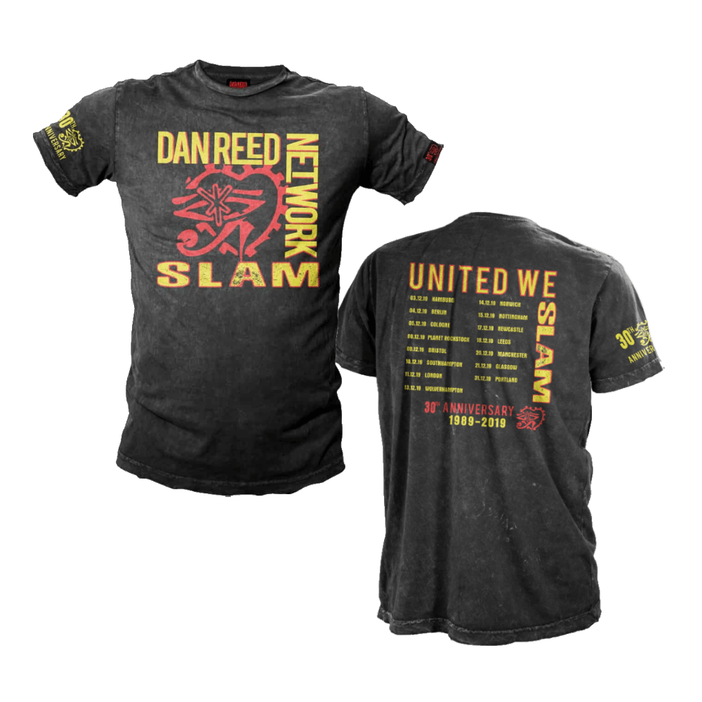 Dan Reed Network Slam 30th Anniversary Tour T Shirt Tm Stores