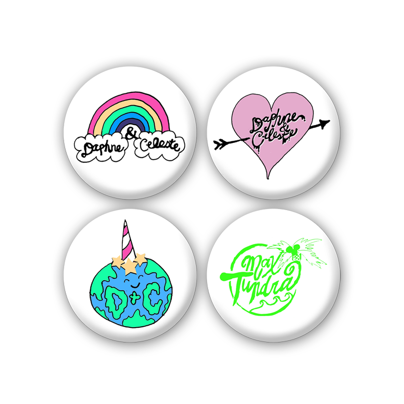 Buy Online Daphne & Celeste - Badge Pack