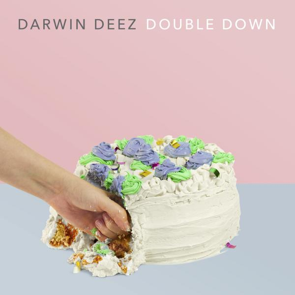 Buy Online Darwin Deez - Double Down Heavyweight Coloured Vinyl Album (Limited Edition)