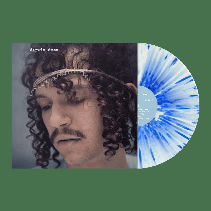Buy Online Darwin Deez - Darwin Deez (10 Yearz) White/Blue Splatter + Bonus 7-Inch Vinyl