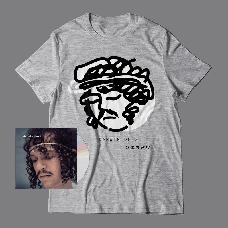 Buy Online Darwin Deez - Darwin Deez (10 Yearz) CD + T-Shirt