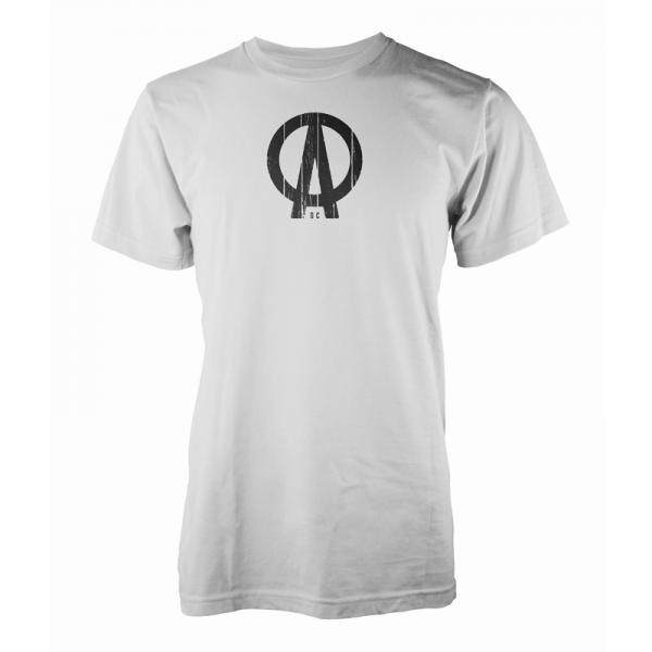 Buy Online Dave Clarke - DC Logo White T-Shirt