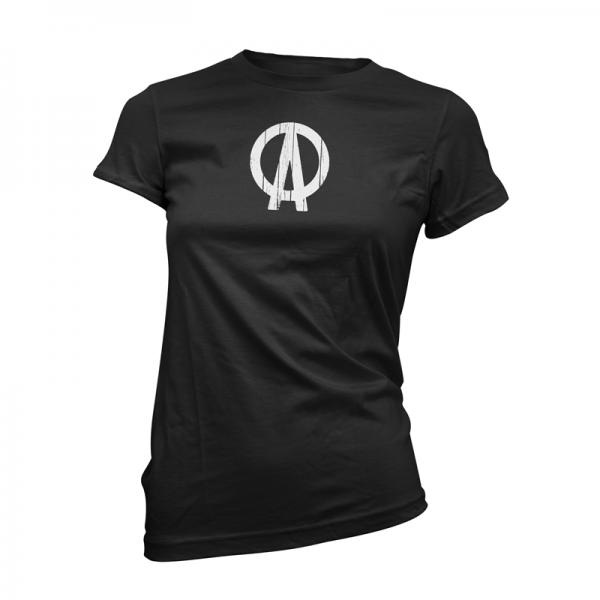 Buy Online Dave Clarke - DC Logo Black Womens T-Shirt