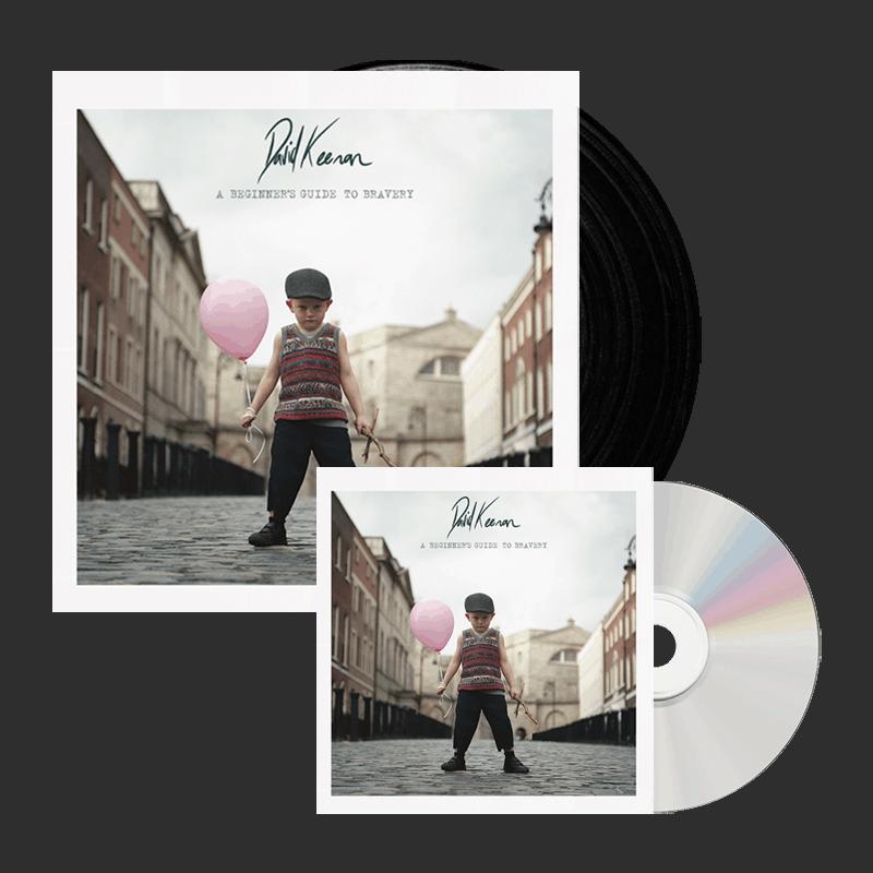 Buy Online David Keenan - A Beginners Guide To Bravery CD + LP Bundle