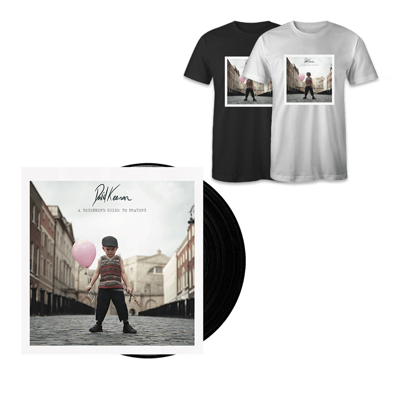 Buy Online David Keenan - A Beginners Guide To Bravery Vinyl + T-Shirt